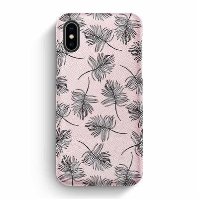 Mobile Mob True Envy iPhone X/XS Case - Sky Falling Leaves in Pink