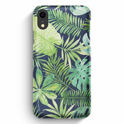 True Envy iPhone XR Case - Tropical Life in Green