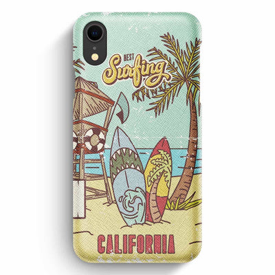 Mobile Mob True Envy iPhone XR Case - Vintage California Sun
