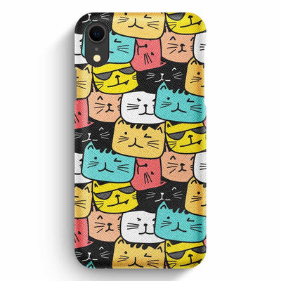 Mobile Mob True Envy iPhone XR Case - Cats Soup in Colors