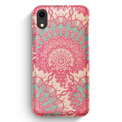 Mobile Mob True Envy iPhone XR Case - Delicate Pastel Mandala