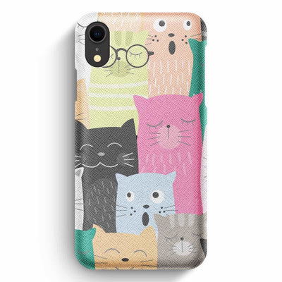 Mobile Mob True Envy iPhone XR Case - Feline Feelings