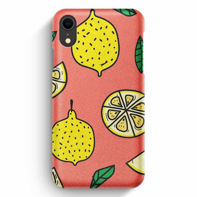 Mobile Mob True Envy iPhone XR Case - Lemonade Mood
