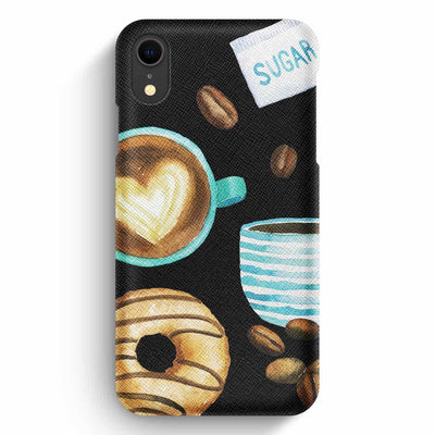 Mobile Mob True Envy iPhone XR Case - Mocha & donuts