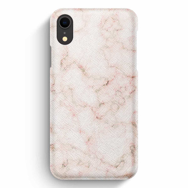True Envy iPhone XR Case - Old Pink Marble