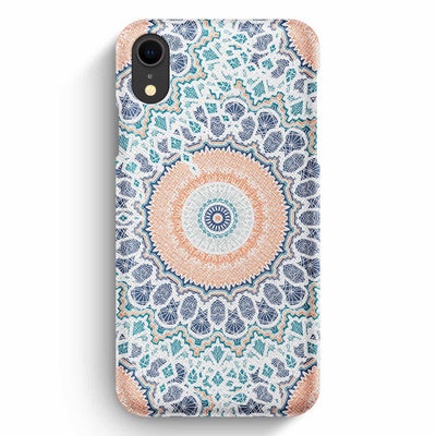 Mobile Mob True Envy iPhone XR Case - Peach Pastel Mandala