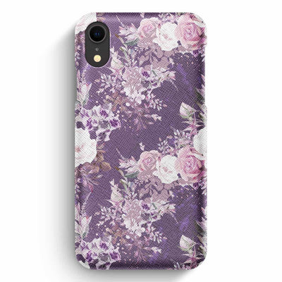 True Envy iPhone XR Case - Purple Bouquet