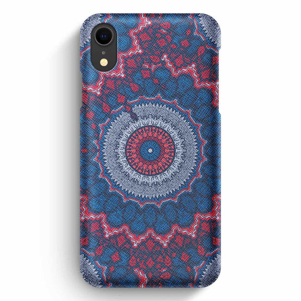 Mobile Mob True Envy iPhone XR Case - Royal Azure Mandala