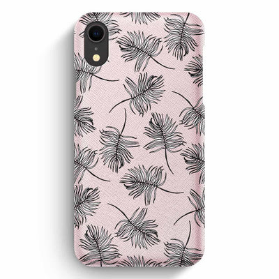 Mobile Mob True Envy iPhone XR Case - Sky Falling Leaves in Pink
