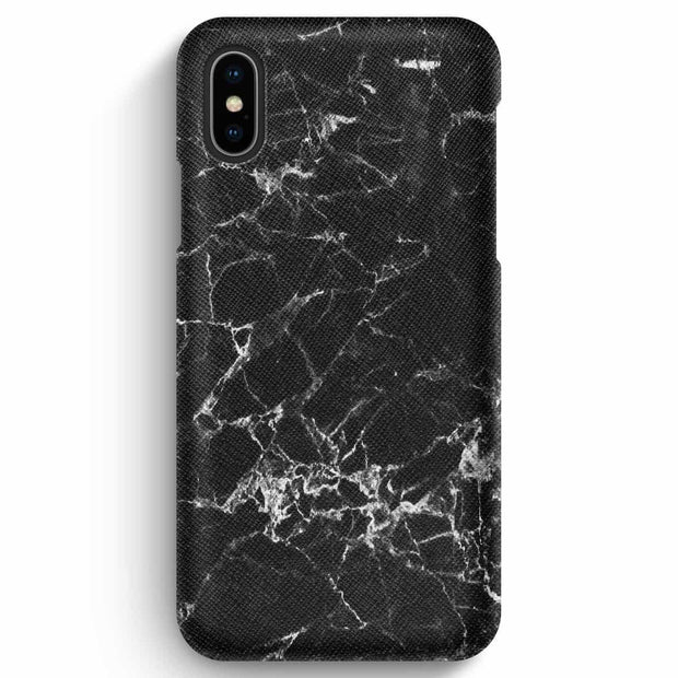True Envy iPhone XS Max Case - Spider Web Marble