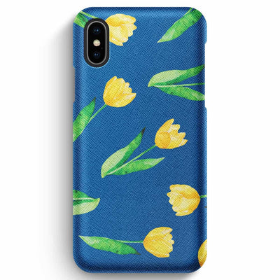 Mobile Mob True Envy iPhone XS Max Case - Sunny tullips & the sky