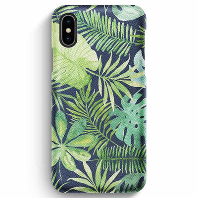 Mobile Mob True Envy iPhone XS Max Case - Tropical Life in Green