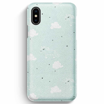 Mobile Mob True Envy iPhone XS Max Case - Unicorns in the clouds