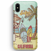 True Envy iPhone XS Max Case - Vintage California Sun