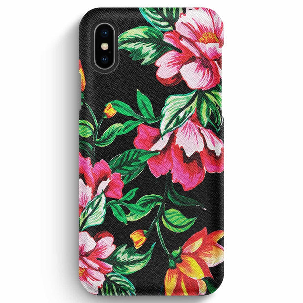 Mobile Mob True Envy iPhone XS Max Case - Vivid Garden Flower