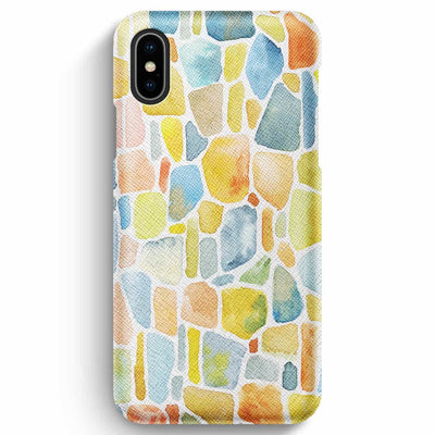 Mobile Mob True Envy iPhone XS Max Case - Cobbled Colors