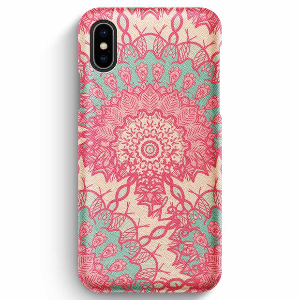 True Envy iPhone XS Max Case - Delicate Pastel Mandala