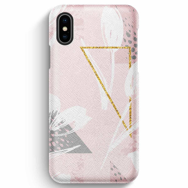 Mobile Mob True Envy iPhone XS Max Case - Floral and Geometric Harmony