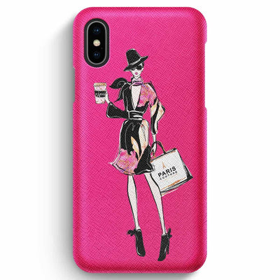 Mobile Mob True Envy iPhone XS Max Case - Glowing in Paris