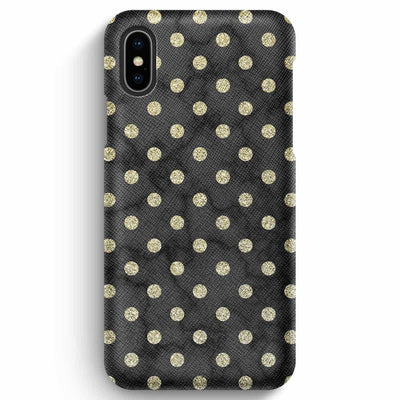 Mobile Mob True Envy iPhone XS Max Case - Lunary Golden Marble