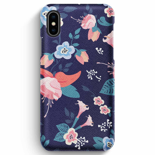 Mobile Mob True Envy iPhone XS Max Case - Moonlight Flowers
