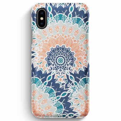 True Envy iPhone XS Max Case - Ocean Mandala