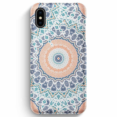 Mobile Mob True Envy iPhone XS Max Case - Peach Pastel Mandala