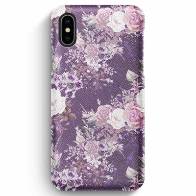 True Envy iPhone XS Max Case - Purple Bouquet