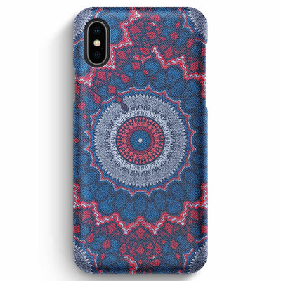 Mobile Mob True Envy iPhone XS Max Case - Royal Azure Mandala