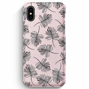 True Envy iPhone XS Max Case - Sky Falling Leaves in Pink