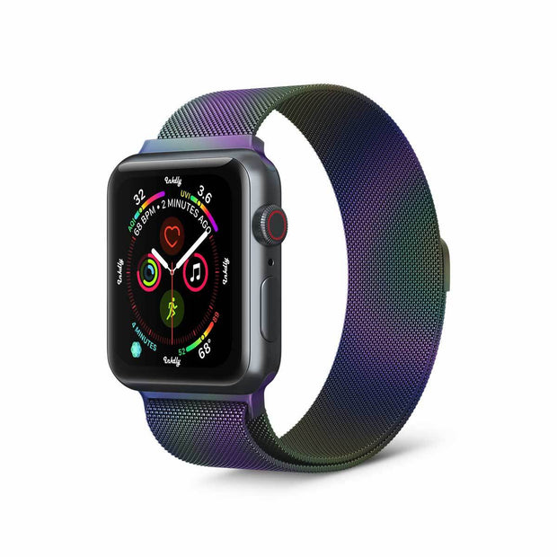 Mobile Mob Stainless Milanese Apple Watch Band with Magnetic Lock