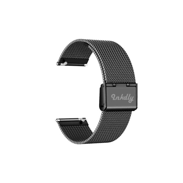 Mobile Mob Milanese Fitbit Versa & 2 Band Replacement Quick Release Black Night