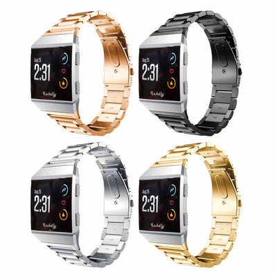 Mobile Mob Boss Fitbit Ionic Band Replacement Stainless Link