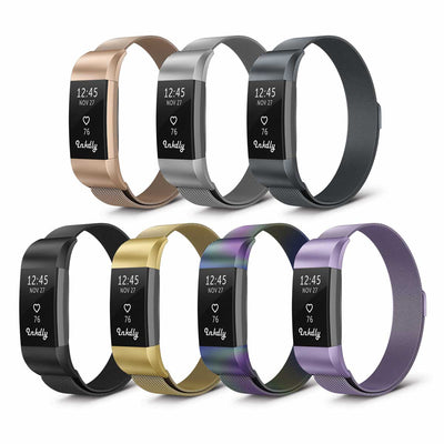 Mobile Mob Milanese Fitbit Charge 2 Band Replacement Magnetic Lock