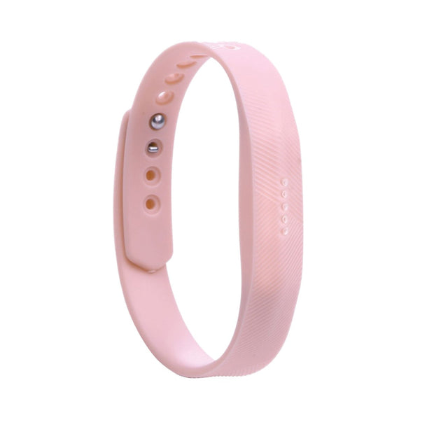 Fitbit Flex 2 Bands Replacement Bracelet Wristband With Clasp - Light Pink