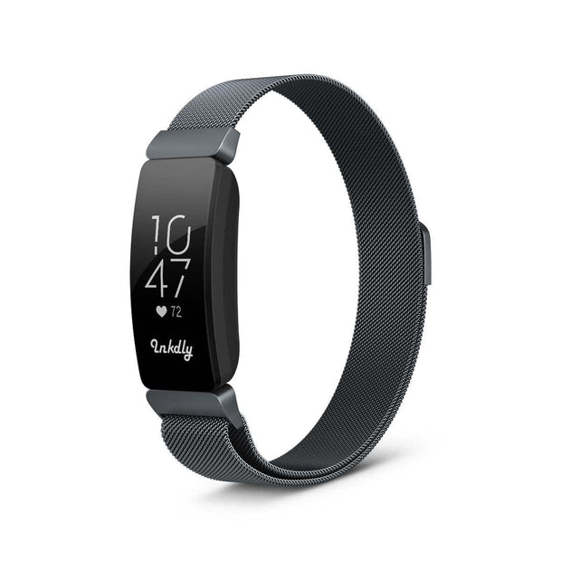 Milanese Fitbit Inspire & HR Band Replacement Magnetic Lock SPACE GREY