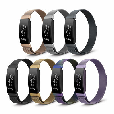Mobile Mob Milanese Fitbit Inspire & HR Band Replacement Magnetic Lock