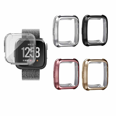 Mobile Mob Slimfit Fitbit Versa Protective Case & Screen Protector