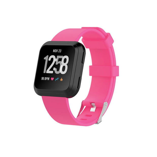 Mobile Mob Fitbit Versa & 2 Bands Replacement Straps Small / Hot Pink