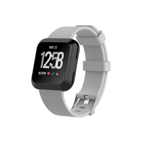 Mobile Mob Fitbit Versa & 2 Bands Replacement Straps Small / Light Grey