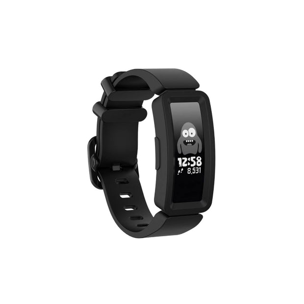 Mobile Mob Fitbit Ace 2 Bands Replacement Straps with Buckle (Kids size) Black