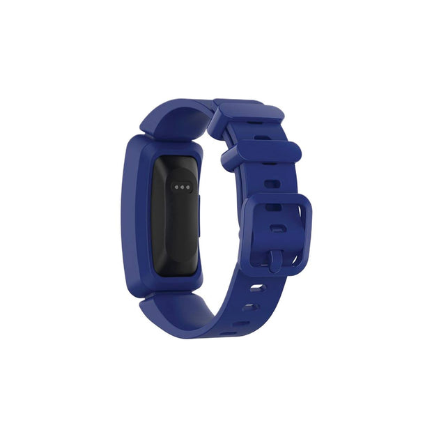 Mobile Mob Fitbit Ace 2 Bands Replacement Straps with Buckle (Kids size) Dark Blue