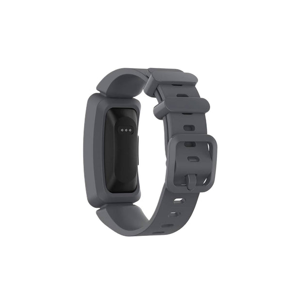 Mobile Mob Fitbit Ace 2 Bands Replacement Straps with Buckle (Kids size) Dark Grey