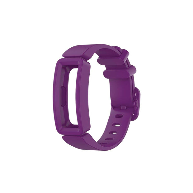 Mobile Mob Fitbit Ace 2 Bands Replacement Straps with Buckle (Kids size) Grape Purple