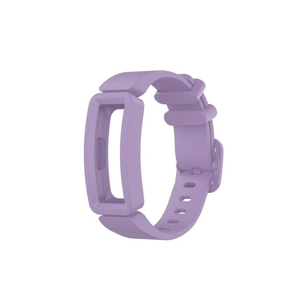 Mobile Mob Fitbit Ace 2 Bands Replacement Straps with Buckle (Kids size) Light Purple