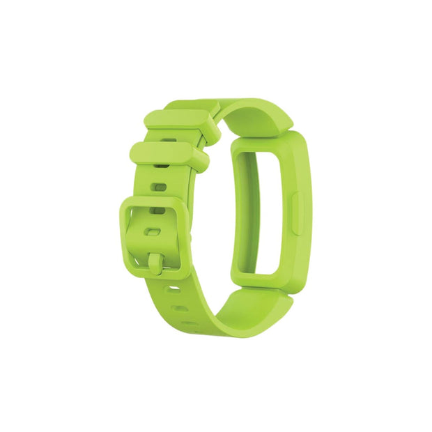 Mobile Mob Fitbit Ace 2 Bands Replacement Straps with Buckle (Kids size) Lime