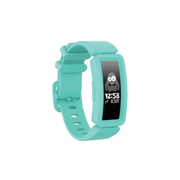 Mobile Mob Fitbit Ace 2 Bands Replacement Straps with Buckle (Kids size) Teal