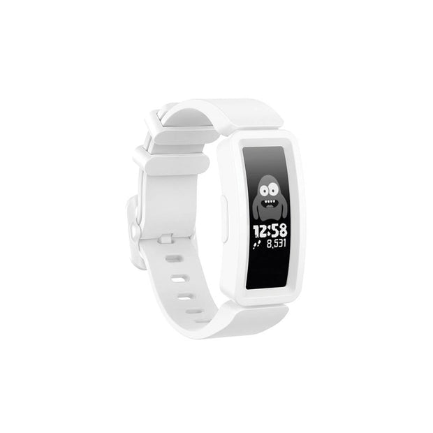 Mobile Mob Fitbit Ace 2 Bands Replacement Straps with Buckle (Kids size) White