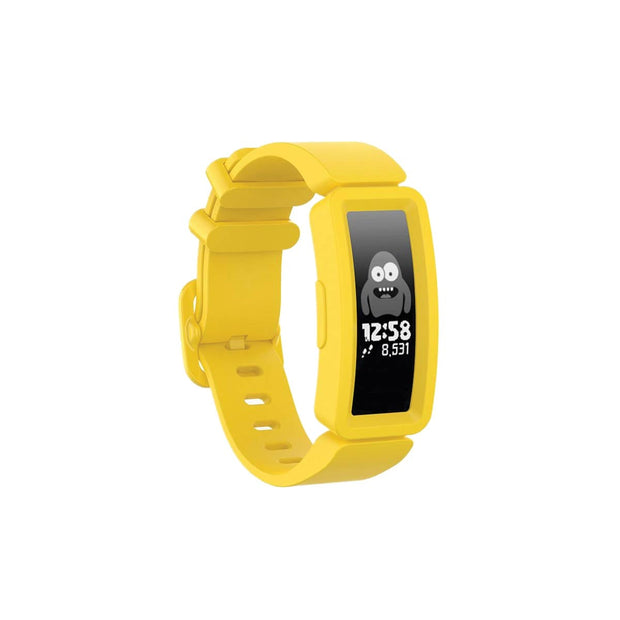Mobile Mob Fitbit Ace 2 Bands Replacement Straps with Buckle (Kids size) Yellow