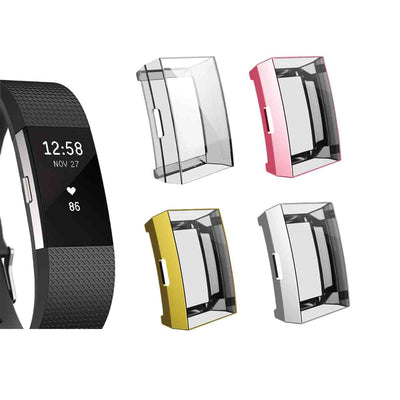 Mobile Mob Slimfit Fitbit Charge 2 Protective Case & Screen Protector